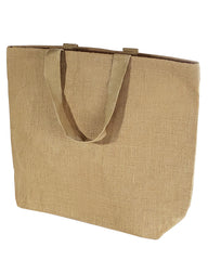 oversite jute bag for travel