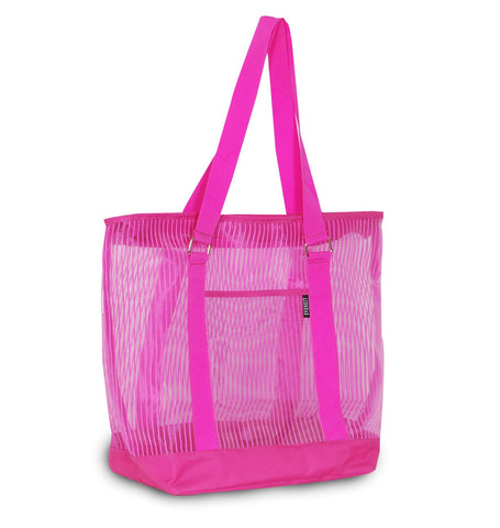 Stylish Colorful Mesh Shopping Tote Bag