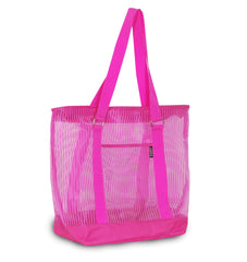 Sylish Colorful Mesh Shopping Tote Bag