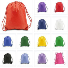 Polyester Cinch Bags, Cheap Wholesale Drawstring Backpacks