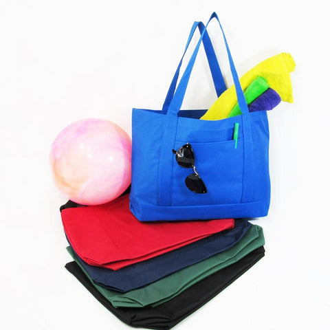 Sturdy Shopping Tote Bags Solid With PVC Backing