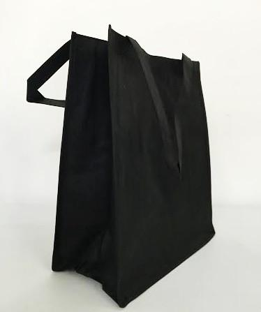 Large Polypropylene Grocery Tote Bag W/Gusset - GN38