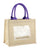 promotional jute burlap bag tbf purple