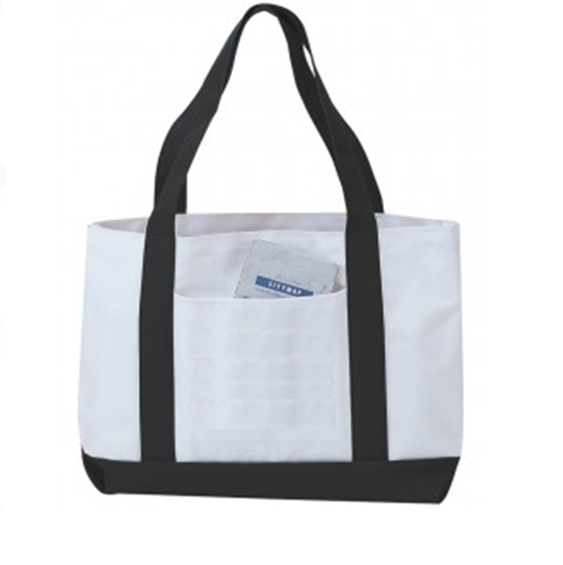 Wholesale Tote Bagsgrocery Shopping Tote Bag With Large Pocket