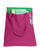 wholesale polyester tote bags pink