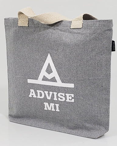 Custom Recycled Canvas Tote Bag With Bottom Gusset - Recycled Canvas Tote Bags With Your Logo - RC870