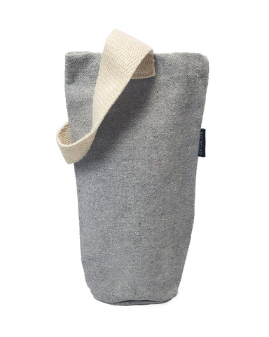 6 ct Recycled Cotton Canvas Wine Bag - Pack of 6