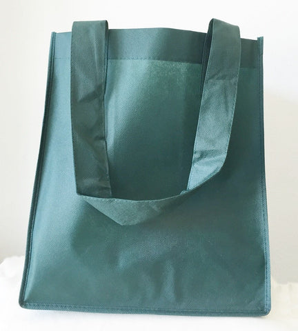 PL Bottom Grocery Shopping Tote Bag with Large Imprint Area - TOB48  (CLOSEOUT)
