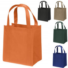 Large Reusable Grocery Bags - Shopping Bags with Hook and Loop Closure - GN45L
