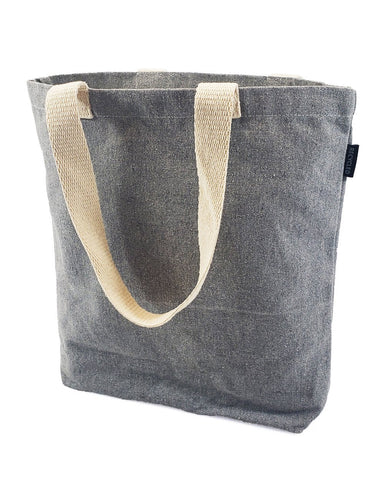 Recycled Canvas Tote Bag With Bottom Gusset - RC870