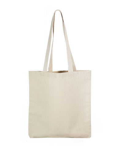 12 ct Economical Canvas Convention Tote Bag with Web Handles - TB204T - By Dozen