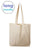 Over the Shoulder Long Handle Cotton Tote Bags