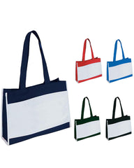 TRAVEL TOTE BAG WITH VELCRO CLOSURE