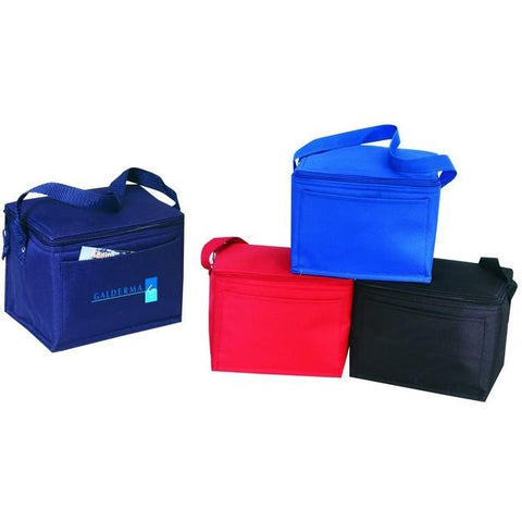 Wholesale Nylon Insulated 6-pack Lunch Cooler Bag