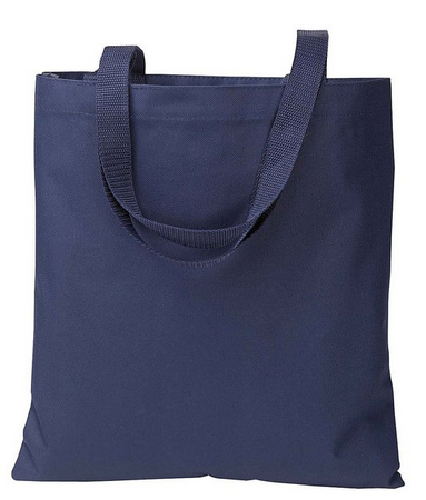 6a1640e348 ... Shopping Bags in Royal · Wholesale Navy Polyester Totes ...