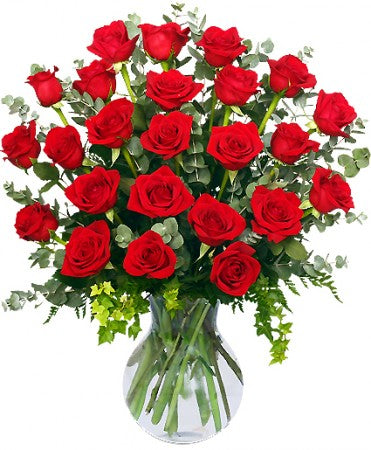 24 Red Roses!