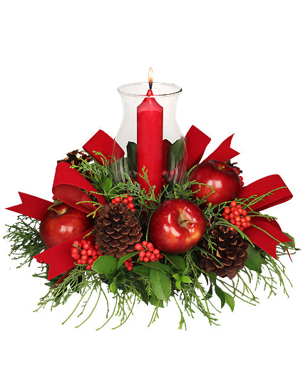 Christmas Bounty Centerpiece
