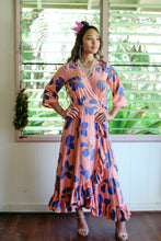 Load image into Gallery viewer, Plumeria Wrap Dress