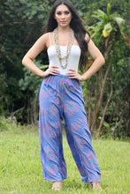 Load image into Gallery viewer, Plumeria Palazzo Pant