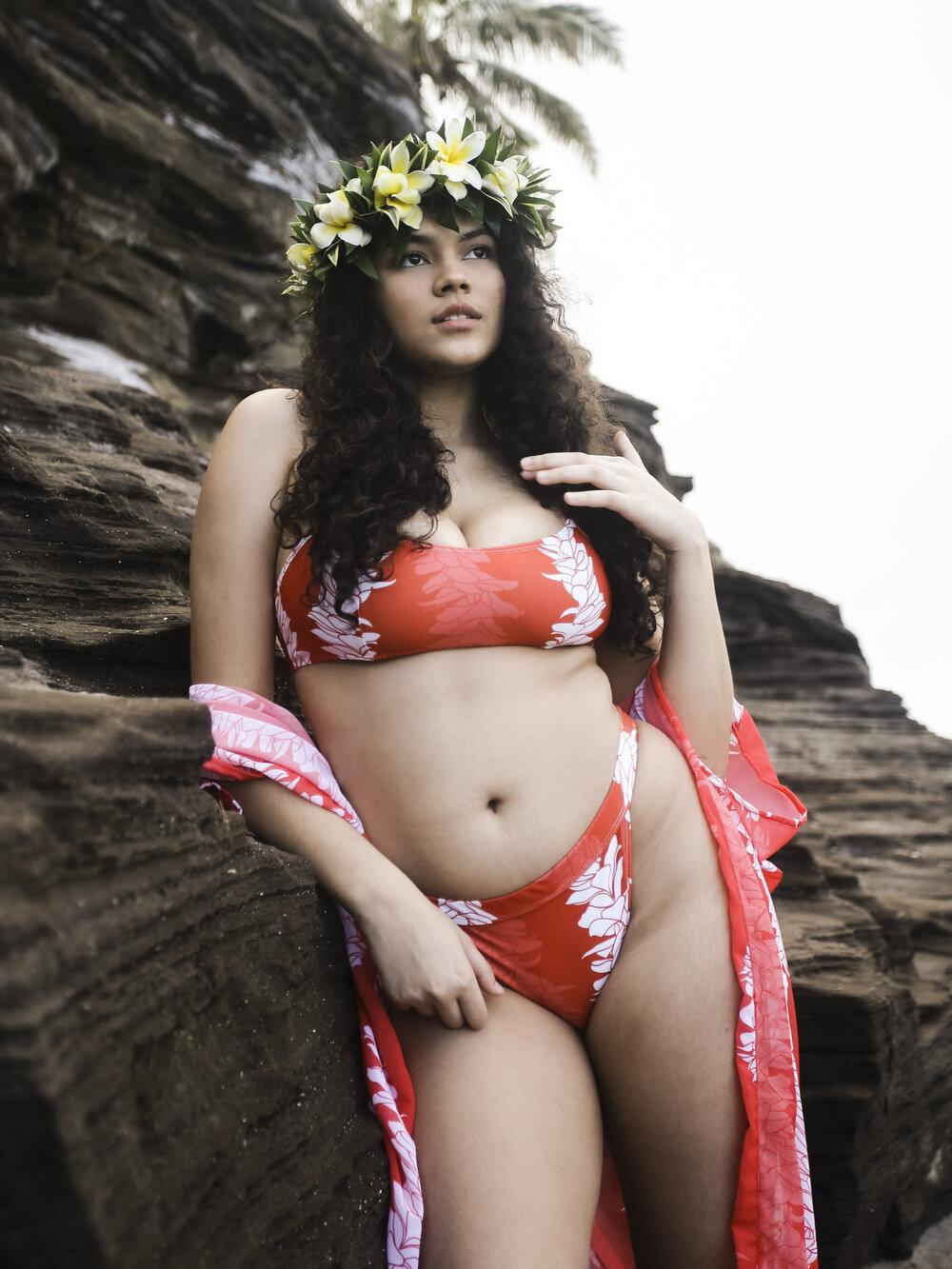 Aloha Lei Swimsuit Bottom