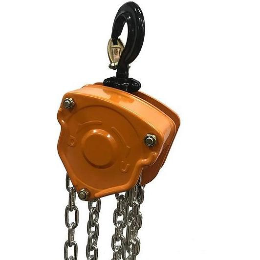 Bison Lifting Equipment CH05-10 10 1/2 Ton Manual Chain Hoist 10ft Lift