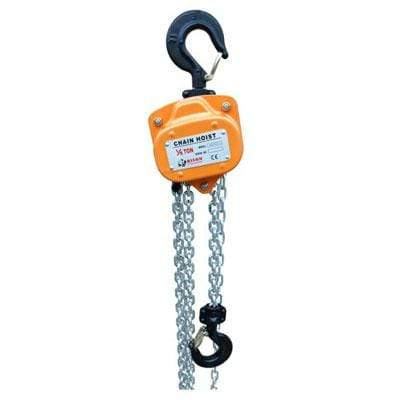 Bison Lifting Equipment CH10-10 1 Ton Manual Chain Hoist 10ft. Lift