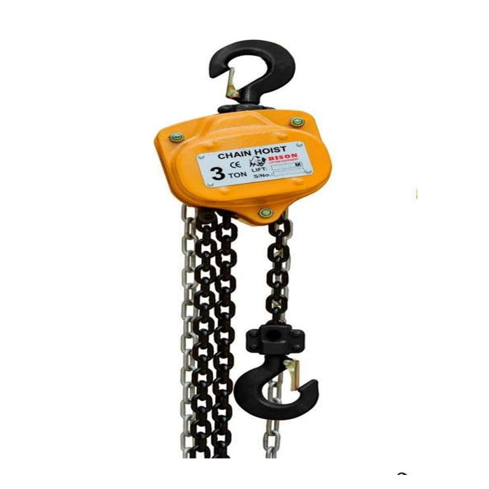 Bison Lifting Equipment CH20-20 2 Ton Manual Chain Hoist 20ft. Lift