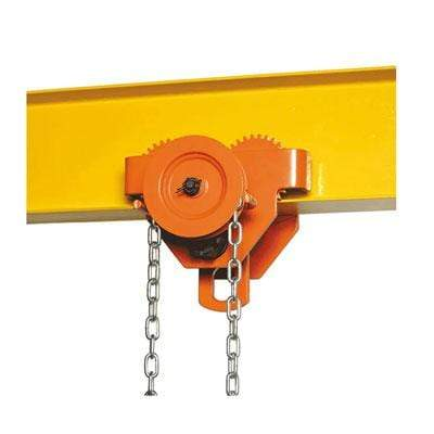 Bison Lifting Equipment GT050-10 5 Ton Geared Trolley 10ft. Lift