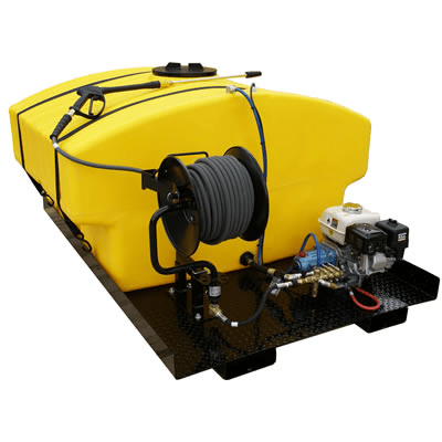 Cam Spray Pickup Mount Diesel Powered 4 gpm, 3000 psi Cold Water Pressure Washer - 3000PMD