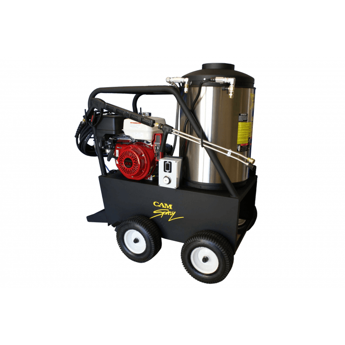 Cam Spray Portable Diesel Fired Gas Powered 4 gpm, 3000 psi Hot Water Pressure Washer - 3040QH