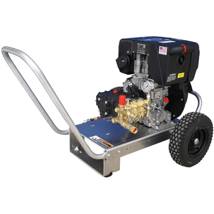 Cam Spray Portable Diesel Powered 4 gpm, 3000 psi Cold Water Pressure Washer - 3000DXE