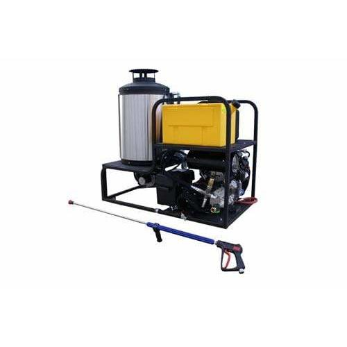 Cam Spray Professional 5000 PSI (Gas-Hot Water) Skid Mount Pressure Washer w/ Honda Engine & Electric Start