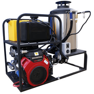 Cam Spray Professional 7000 PSI (Gas-Hot Water) Skid Mount Pressure Washer w/ Honda Engine & Electric Start