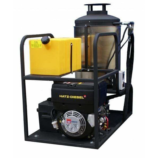 Cam Spray Skid Mount Diesel Fired Diesel Powered 4 gpm, 3000 psi Hot Water Pressure Washer - MCB3040D
