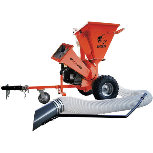 "DK2 ATV TOWABLE 3"" 4000RPM 3-IN-1 CHIPPER SHREDDER & VACUUM - OPC503V OPC503V"