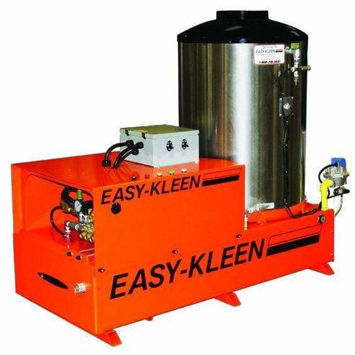 Easy-Kleen 3000 PSI (Natual Gas - Hot Water) Auto Stop Belt-Drive Stationary Pressure Washer (208V 3-Phase) - EZN3010-3-208-A