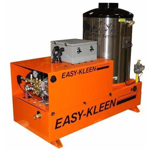 Easy-Kleen 3000 PSI (Natural Gas - Hot Water) Auto Stop Belt-Drive Stationary Pressure Washer (208V 3-Phase) - EZN3004-3-208-A