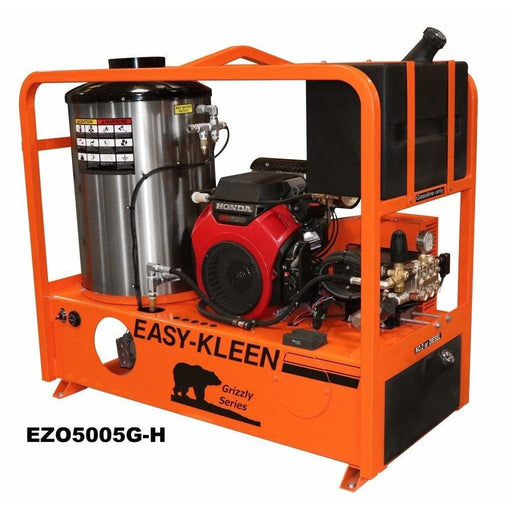 Easy-Kleen 5000 PSI (Gas-Hot Water) Belt Drive Skid Pressure Washer w/ Honda Engine - EZO5005G-H