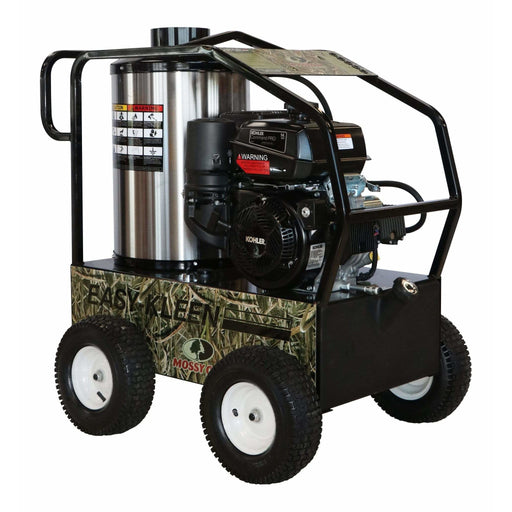 Easy-Kleen Commercial Hot Water Gas-Oil Fired Pressure Washer, 3.5 GPM, 4000 psi, 14 hp Kohler, Direct Drive - EZO4035G-K-GP-12
