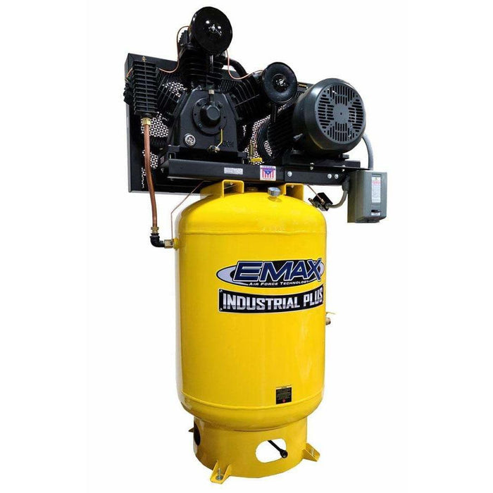 EMAX Industrial Plus 15-HP 120-Gallon Two-Stage Air Compressor (230V 3-Phase) - EP15V120Y3