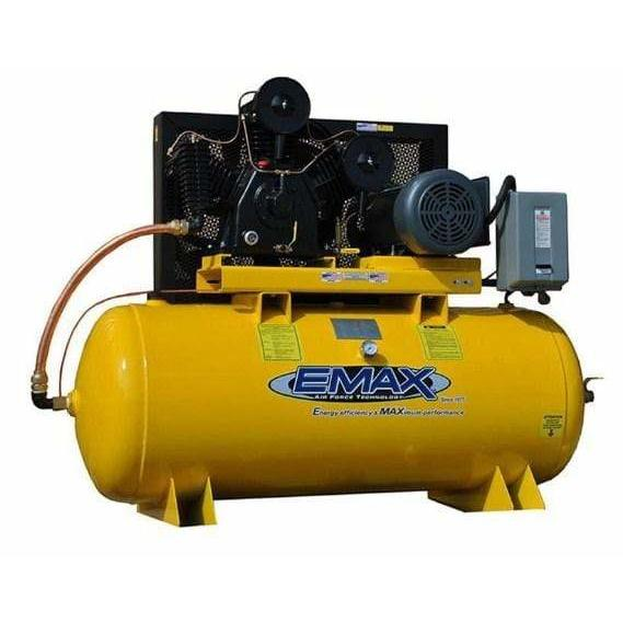 EMAX Industrial Plus 15-HP 120-Gallon Two-Stage Air Compressor - EP15H120Y3