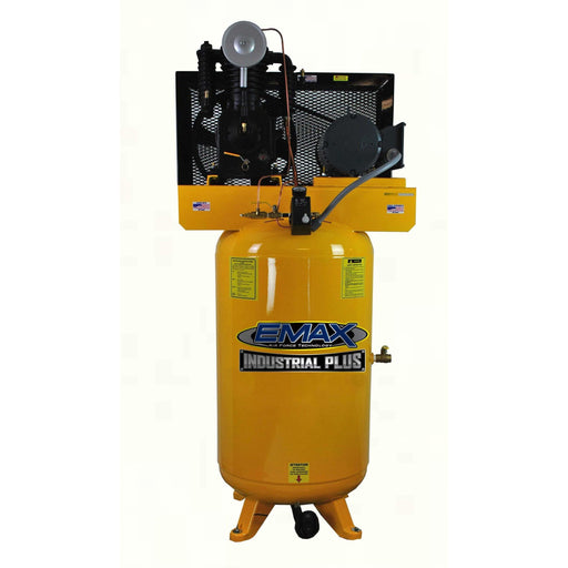 EMAX Industrial Plus 5-HP 80-Gallon Two-Stage Air Compressor (208/230V 1-Phase) - EP05V080I1