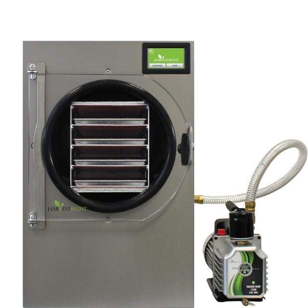 Harvest Right Medium Home Freeze Dryer With Oil Pump - Stainless Steel