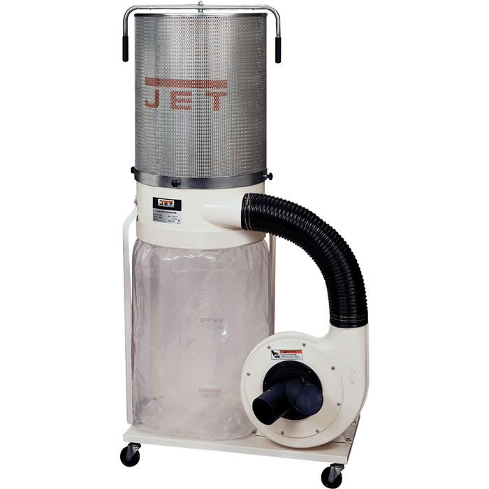 Jet DC-1100VX-CK Dust Collector, 1.5HP 1PH 115/230V, 2-Micron Canister Kit - 708659K 708659K