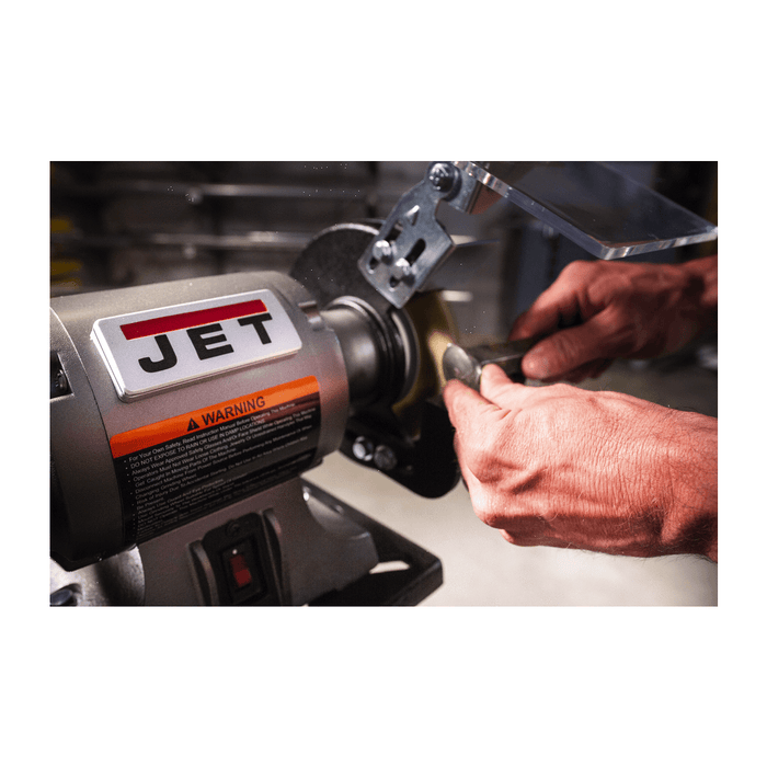 Jet JBG-6W Shop Grinder with Grinding Wheel and Wire Wheel - 577126 577126