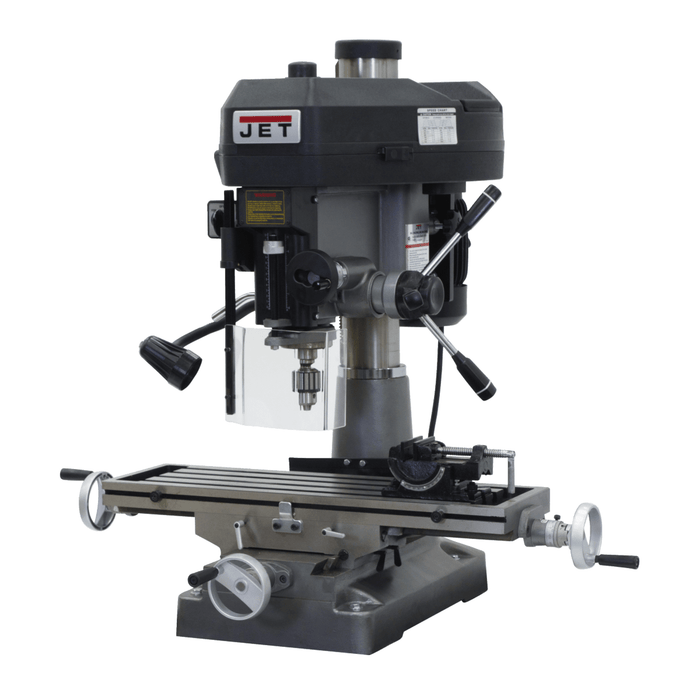 Jet JMD-18 Mill/Drill With R-8 Taper 115/230V 1Ph - 350018 350018
