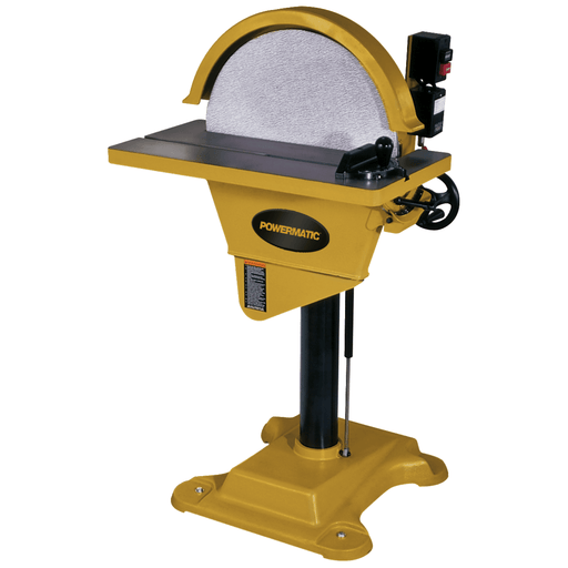 "Powermatic DS-20, 20"" Disc Sander, 2HP 1PH 230V - 1791276 1791276"