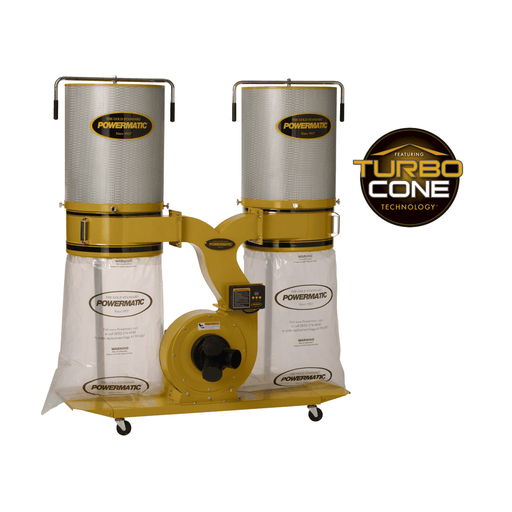 Powermatic PM1900TX-CK1 Dust Collector 3HP 1PH 230V, 2-Micron Canister Kit - 1792072K 1792072K
