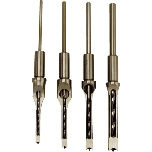 Powermatic Premium Mortise Chisel & Bits, Set of 4 - 1791096 1791096