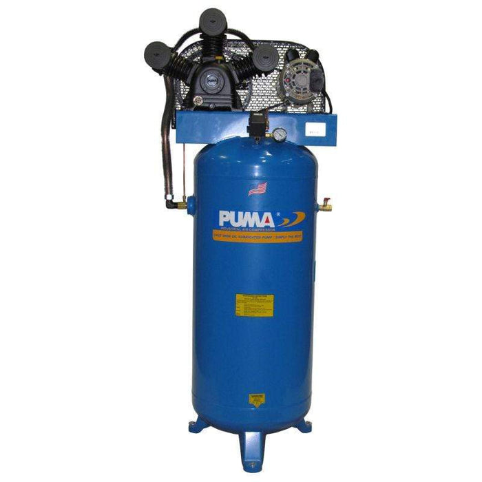 Puma 6.5-HP 60-Gallon (Belt Drive) Single-Stage Air Compressor - PK7060V